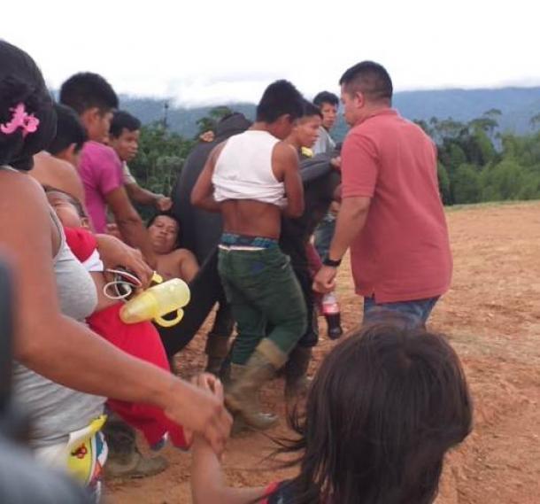 Incursión ilegal de grupo armado dentro del Resguardo indígena, deja herido de gravedad a un docente de la comunidad