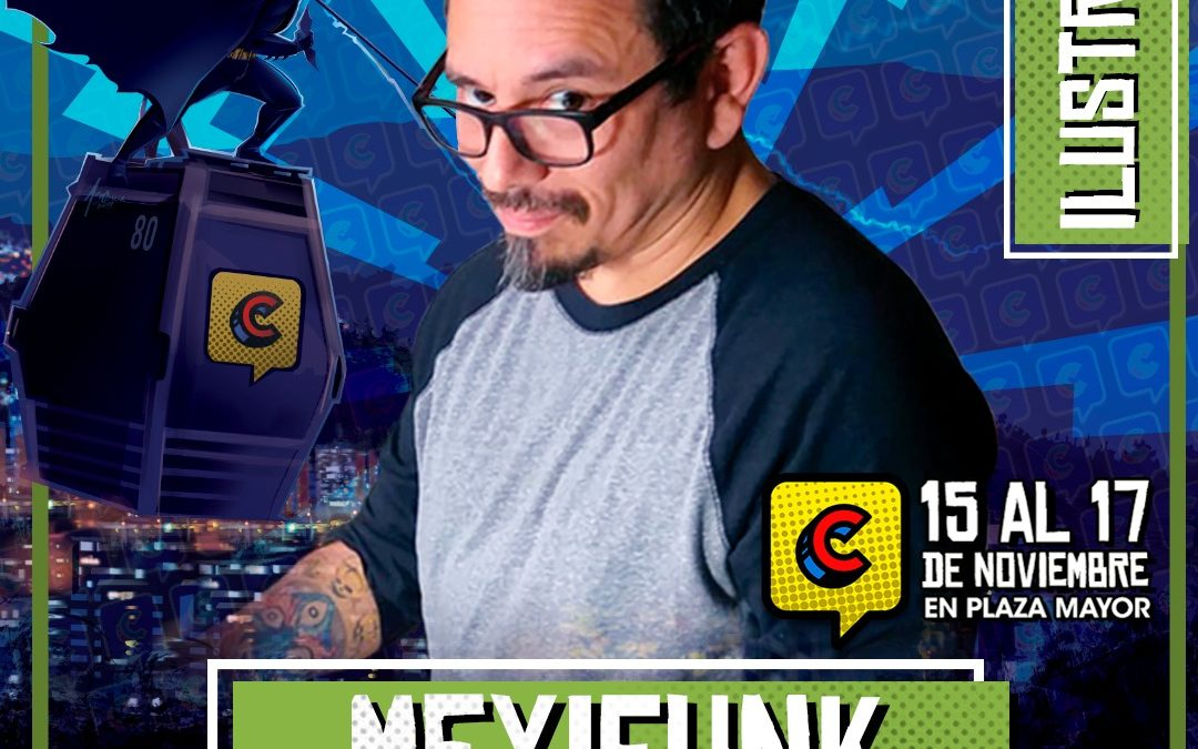 En el Comic Con Colombia estará Orlando Arocena
