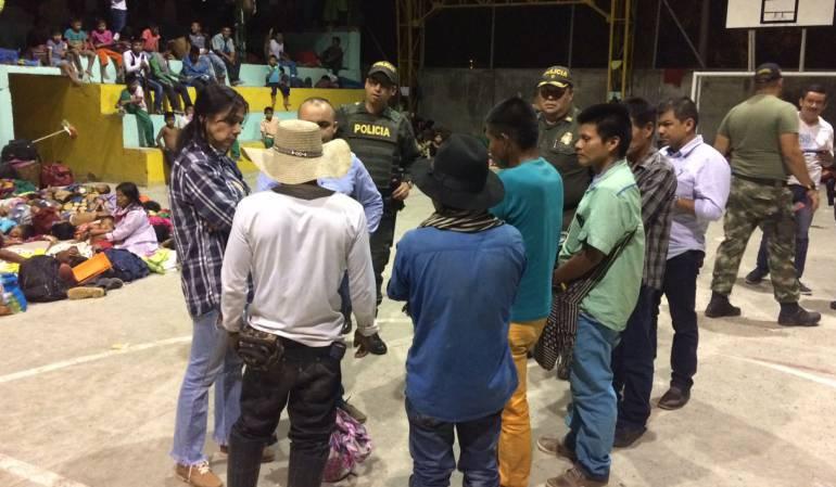 Se agudiza situación de indígenas Embera Chamí desplazados en la ciudad de Pereira
