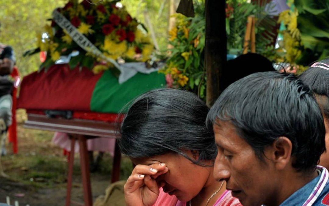 El narcotráfico el gran responsable de los asesinatos de líderes indígenas en el Cauca