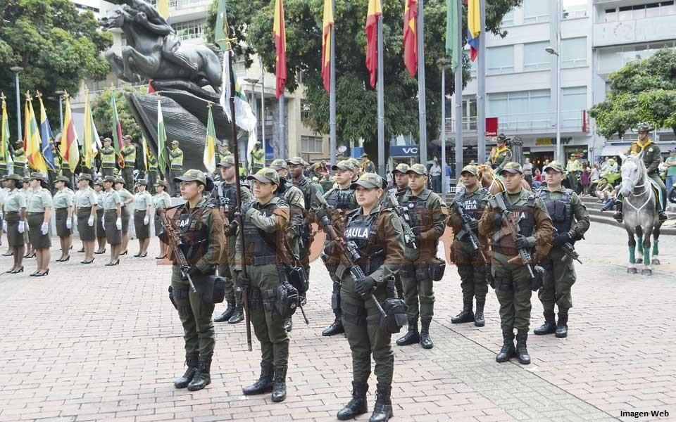 Policía Nacional 128 años cuidando a los colombianos