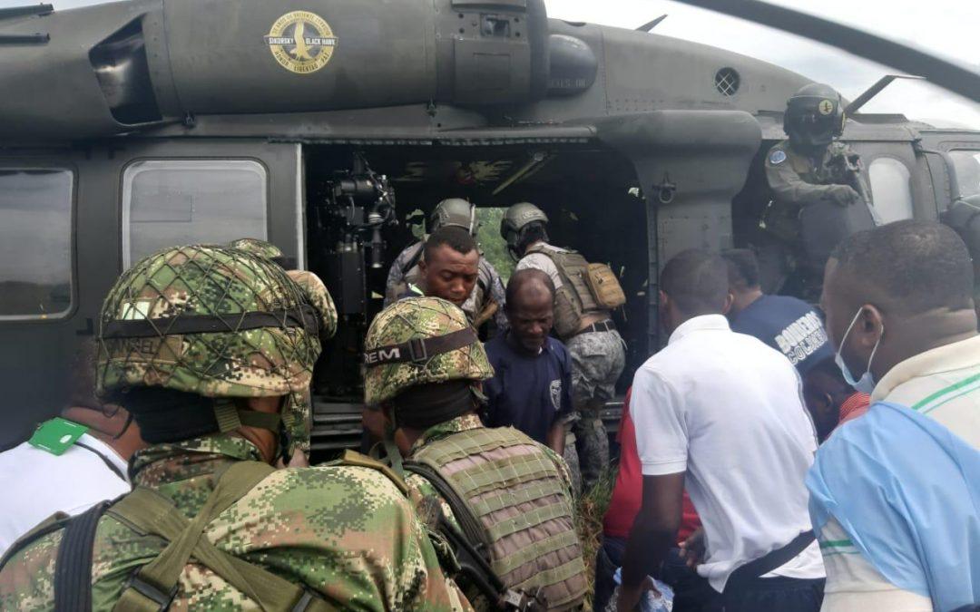 Evacuan tres personas en el municipio Roberto Payan