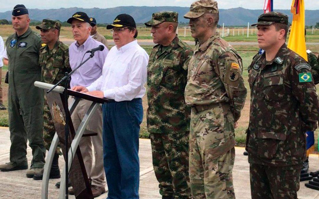 En Tolemaida se realizó el Ejercicio Estratégico Multinacional entre las Fuerzas Militares de Colombia, Estados Unidos y Brasil