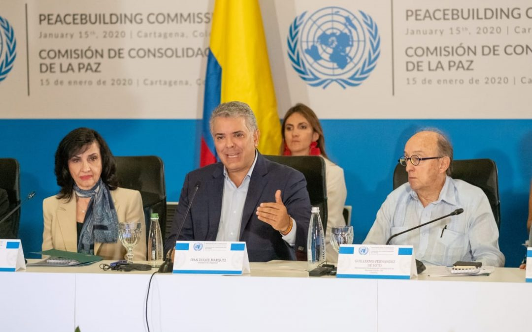 Fortalecer el fondo para la consolidación de la paz de la ONU, estimula 'proyectos emblemáticos'