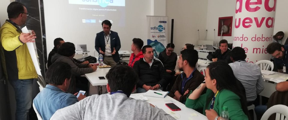 MinTIC y Colombia Productiva se articulan con empresarios bogotanos para contribuir a su transformación digital