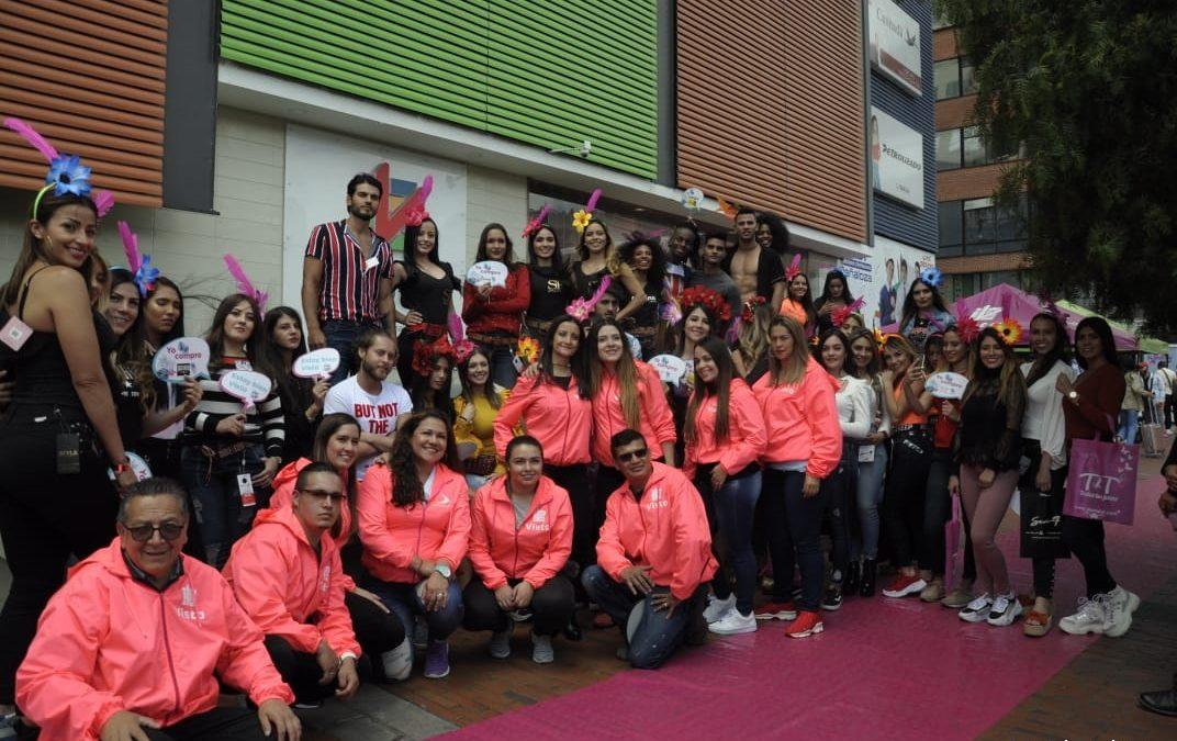 Saturday Pink, pasarela más grande de Colombia se tomó Bogotá