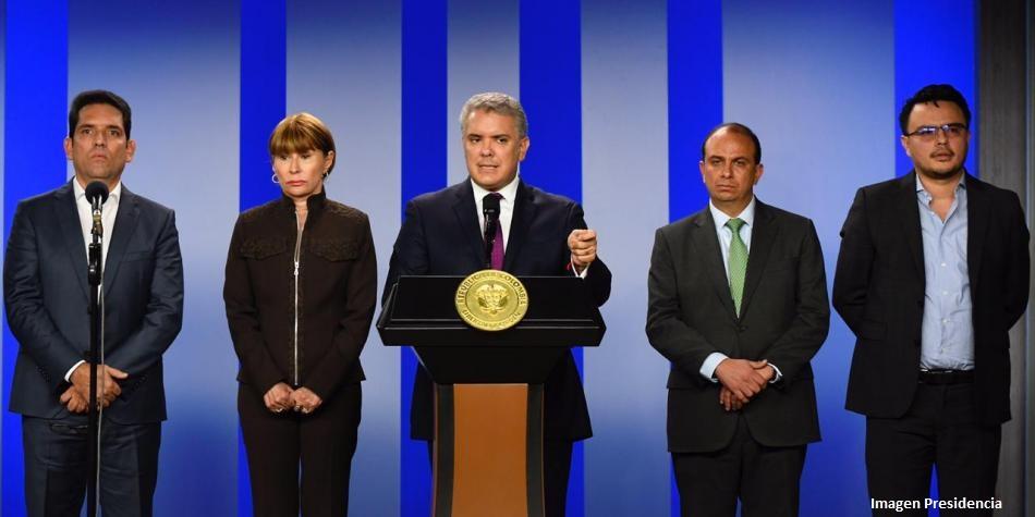Gobernadores y alcaldes del país le expresan al Presidente Duque que van a trabajar de su mano, frente al COVID-19