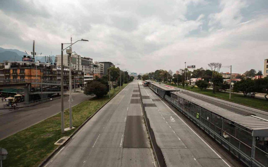 Bogotá inicia su jornada de aislamiento