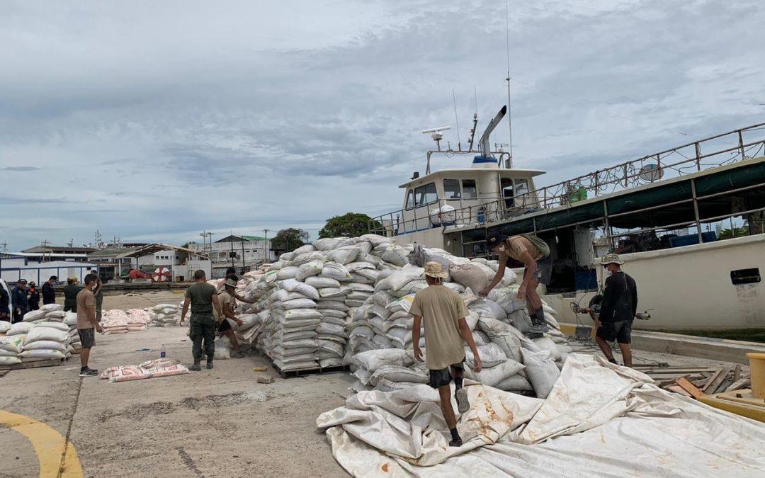 Más de 7,5 toneladas de cocaína fueron incautadas en operación conjunta de Colombia y Estados Unidos