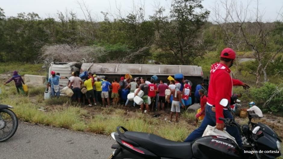 Grave explosión en la vía Ciénaga – Barranquilla