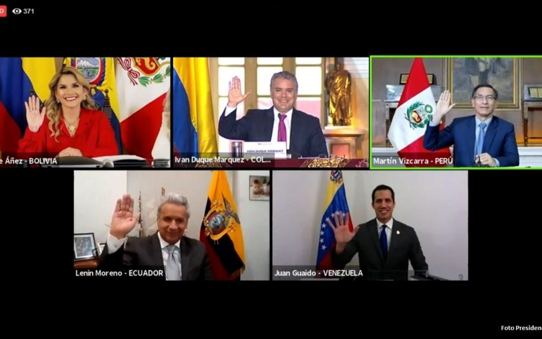 Iván Duque asume presidencia de la Comunidad Andina con una agenda que busca fortalecer la integración