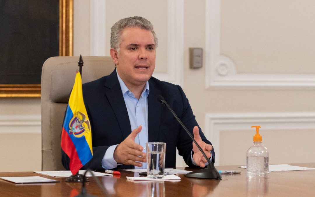 Colombia agradece apoyo de la UE en la atención de la emergencia por covid-19