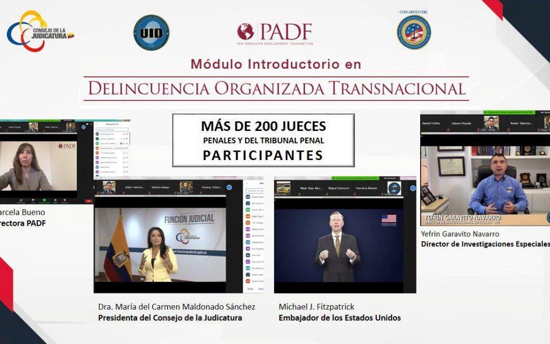 Estados Unidos, Ecuador y Colombia realizan simulacros en la lucha contra los delitos transnacionales