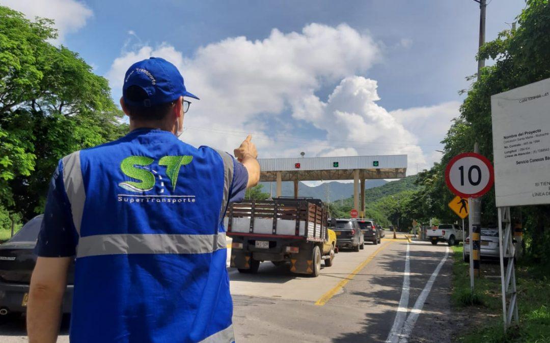 Gobierno cumple meta del Plan Nacional de Seguridad Vial, tras fortalecer la Supertransporte