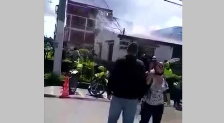 Procuraduría asume investigación por incendio en Estación de Policía de San Mateo – Soacha en la que habrían muerto 9 ciudadanos