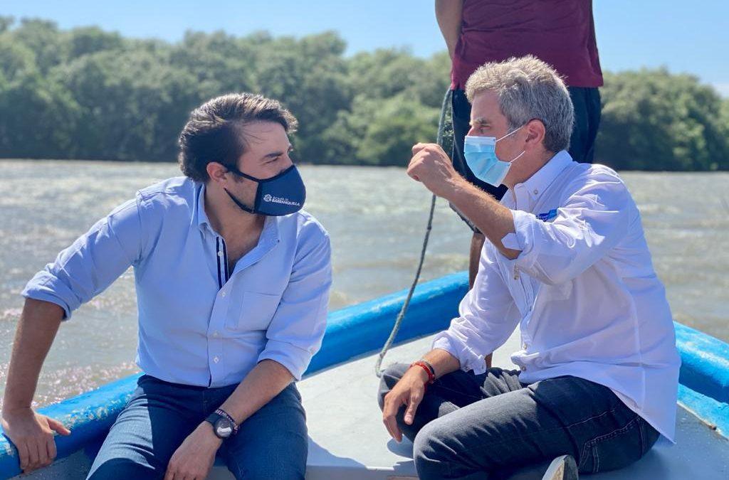 """""""Construiremos el primer megavivero de mangle rojo de Colombia en Barranquilla"""": Minambiente"""