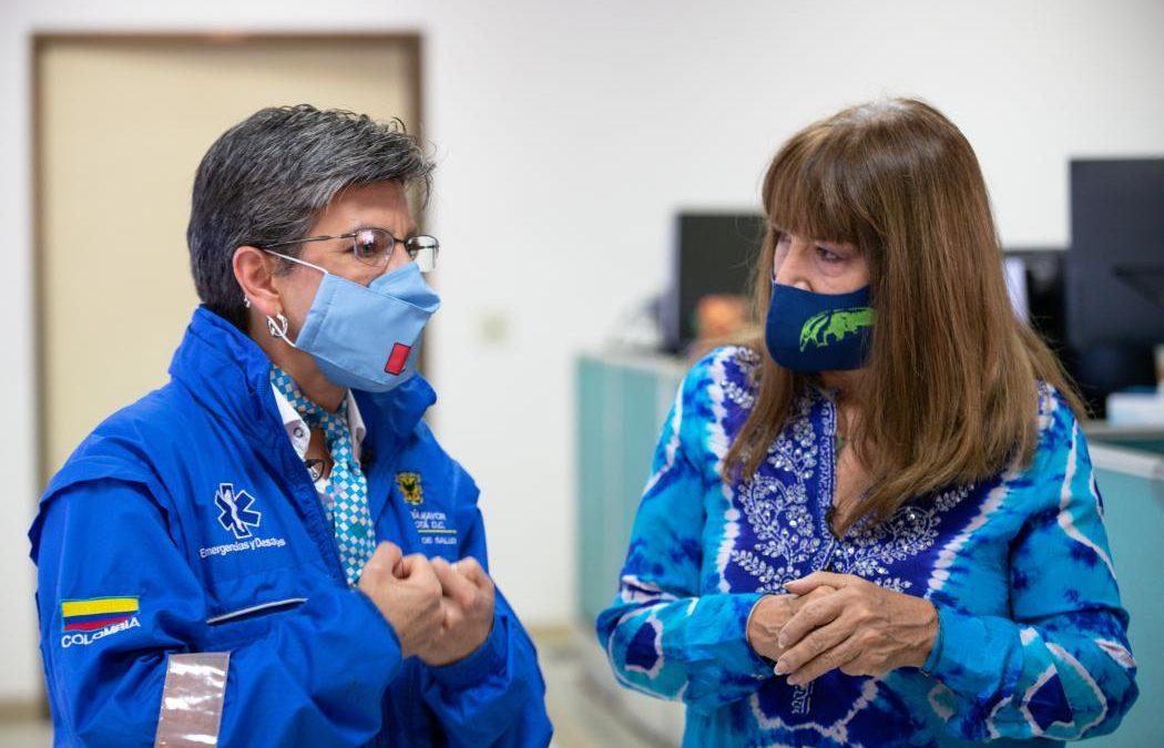 """""""Estábamos preparados para el segundo pico de la pandemia"""": Claudia López"""