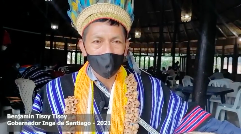 Los Pueblos que siguen el legado del perdón desde Santiago Putumayo- Colombia