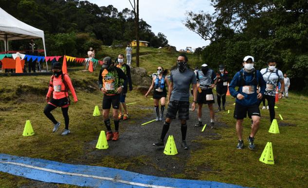 David Cardona, experimentado corredor paisa participará en séptima versión de la Cordillera Trail NVX-Sport