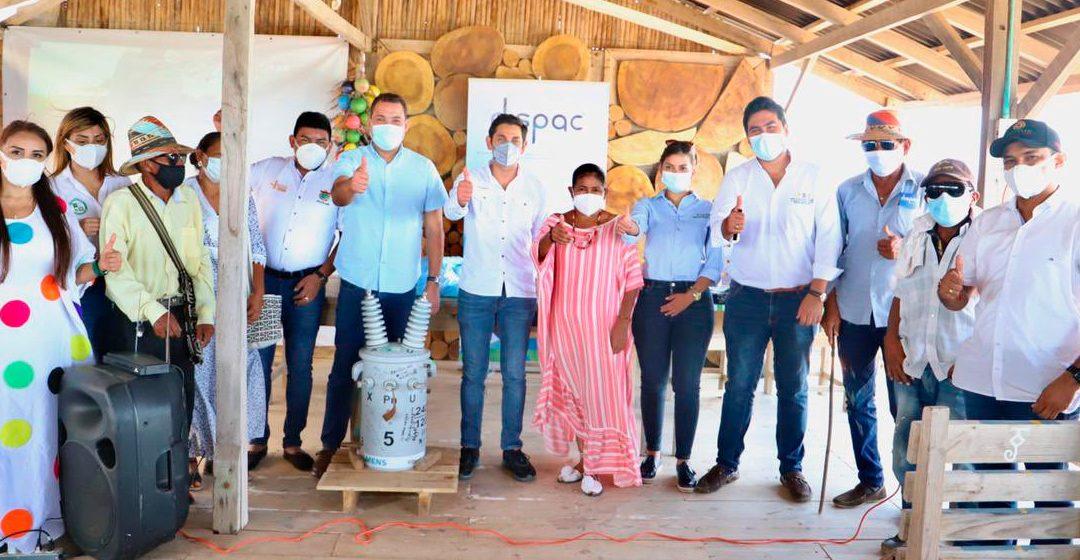 Energía eléctrica para más de 1.300 familias de 53 localidades indígenas de la Alta Guajira