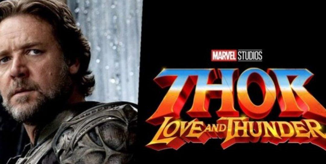 Russell Crowe interpretaría a Zeus en 'Thor Love and Thunder'