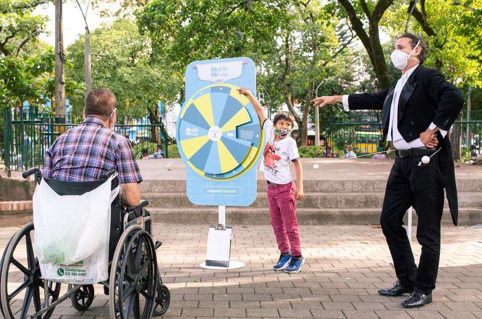 Medellín reactiva Cultura Parque, escenario para la promoción del autocuidado