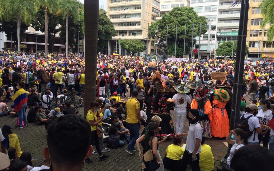 Comité Nacional de Paro anuncia nuevas movilizaciones el 5 de mayo
