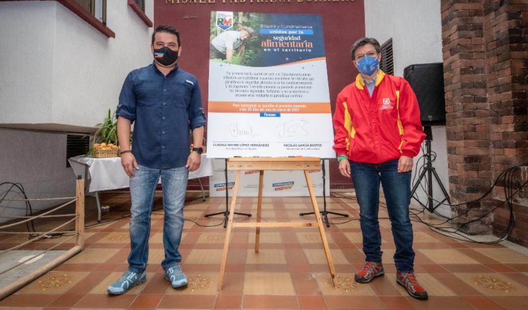 Cundinamarca y Bogotá establecen conjuntamente plan de acción para garantizar el cumplimiento de las medidas de aislamiento