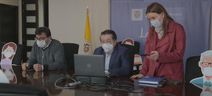Colombia alcanzó un nuevo millón de vacunas en seis días