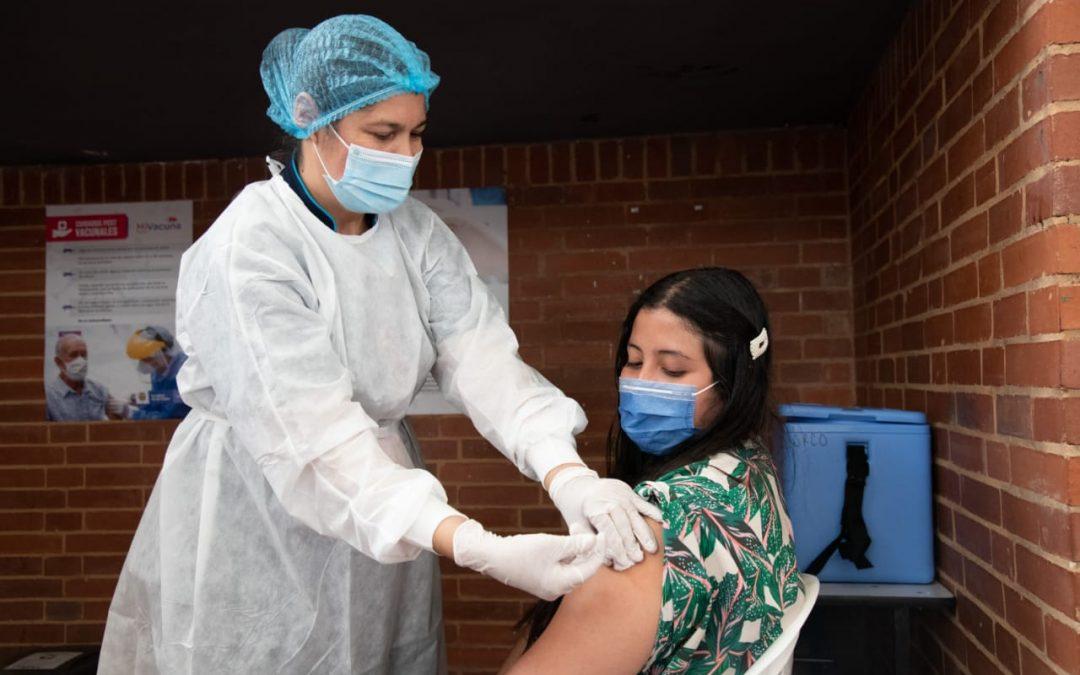Colombia completa 5 millones de dosis aplicadas contra el covid-19