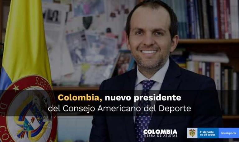 Colombia, nuevo presidente del Consejo Americano del Deporte, CADE