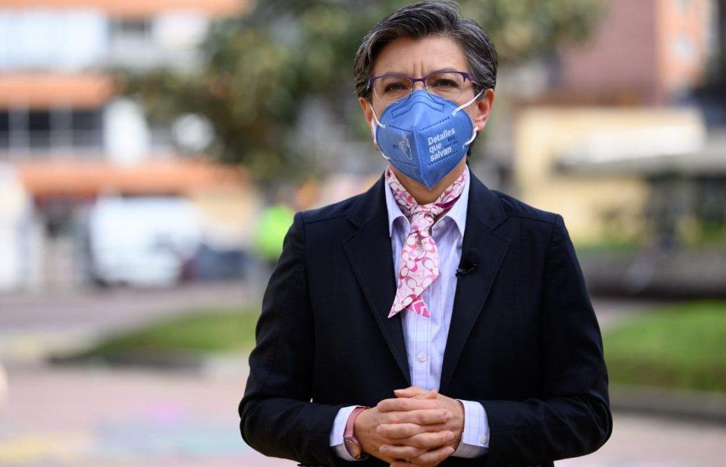 Alcaldesa de Bogotá confirma haber dado positivo para coronavirus