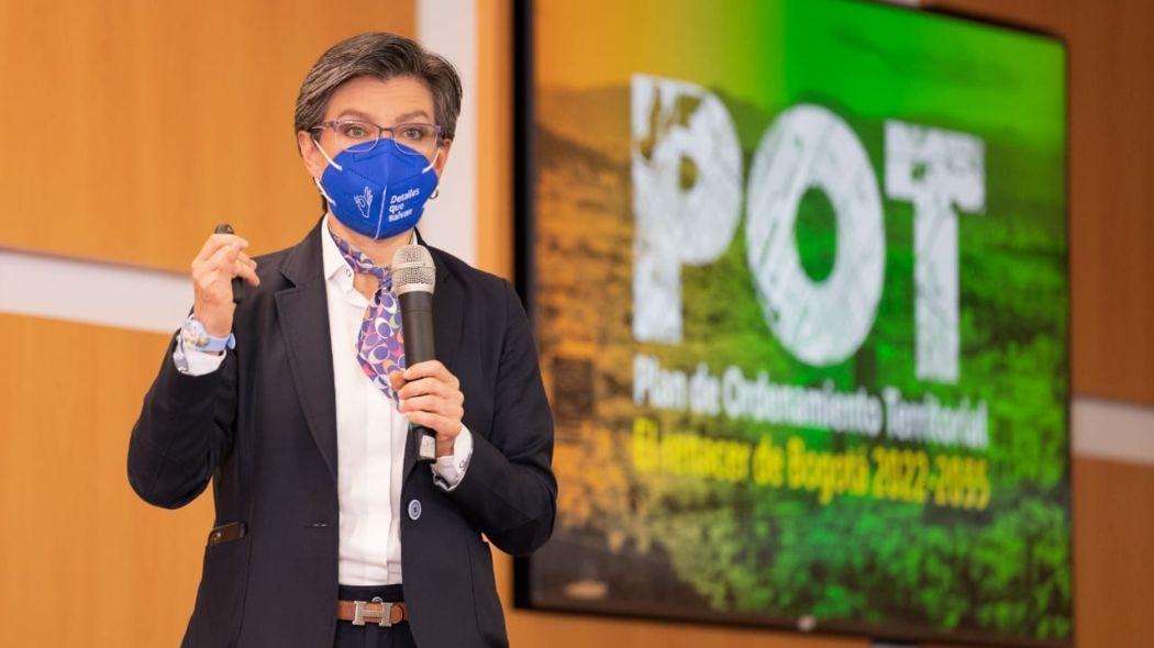 Alcaldía de Bogotá presenta el Plan de Ordenamiento Territorial