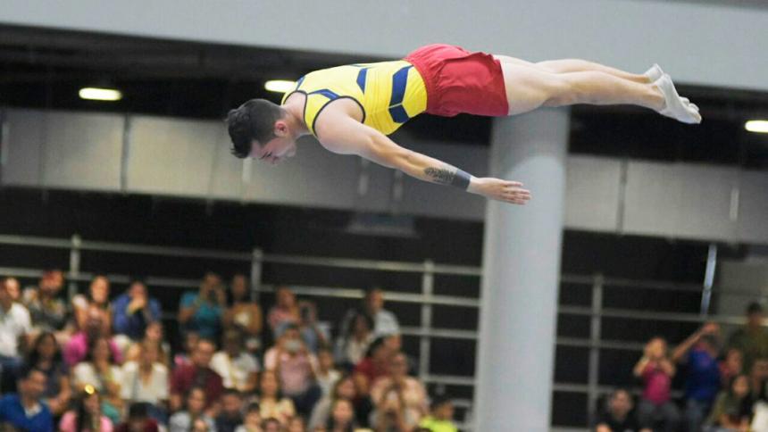 La gimnasia masculina se prepara para el Panamericano de Brasil