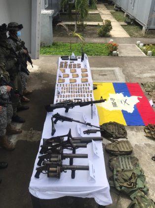 Judicializado presunto responsable de custodiar centro de acopio de armas de los grupos disidentes de las Farc en Nariño