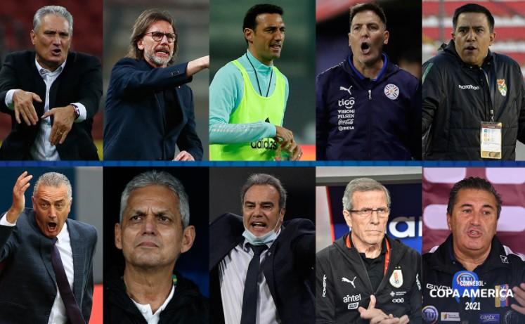 Conozca a los entrenadores de la Copa América