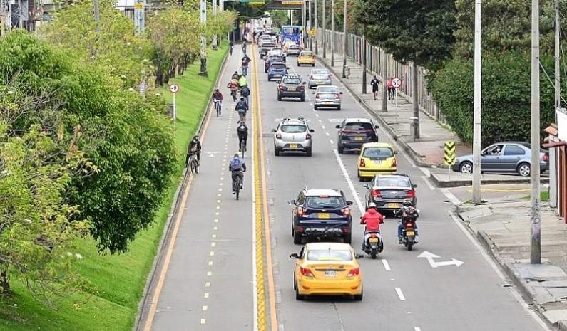 Bogotá implementa 280 kilómetros nuevos de cicloinfraestructura
