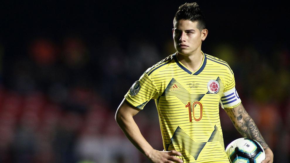 Nueva 'pataleta' de James Rodríguez, quien enfiló 'baterías' contra el técnico de la Selección Colombia: «Me faltaron el respeto»