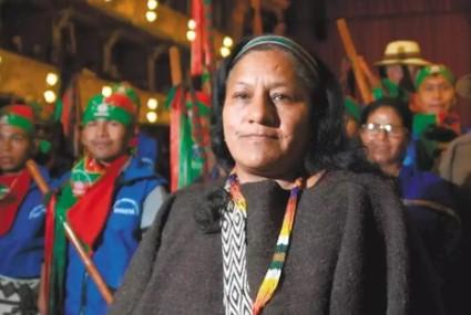 La nueva Candidata a curul del Senado por el partido MAIS: Aida Quilcué