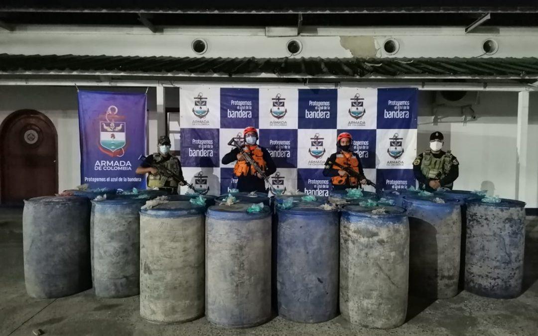 Incautado licor y combustible que eran transportados de manera ilegal en el Río Amazonas