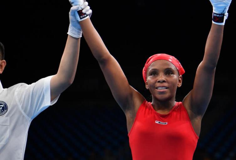La boxeadora colombiana Ingrit Valencia entre las ocho mejores de esta categoría en los olímpicos