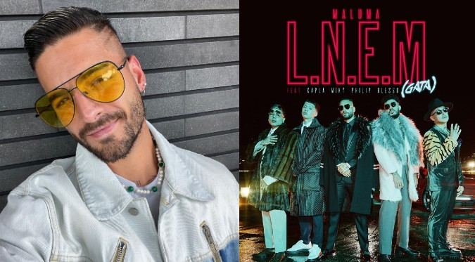 "Maluma junto a cuatro jóvenes colombianos presenta ""L.N.E.M. (Gata)"""