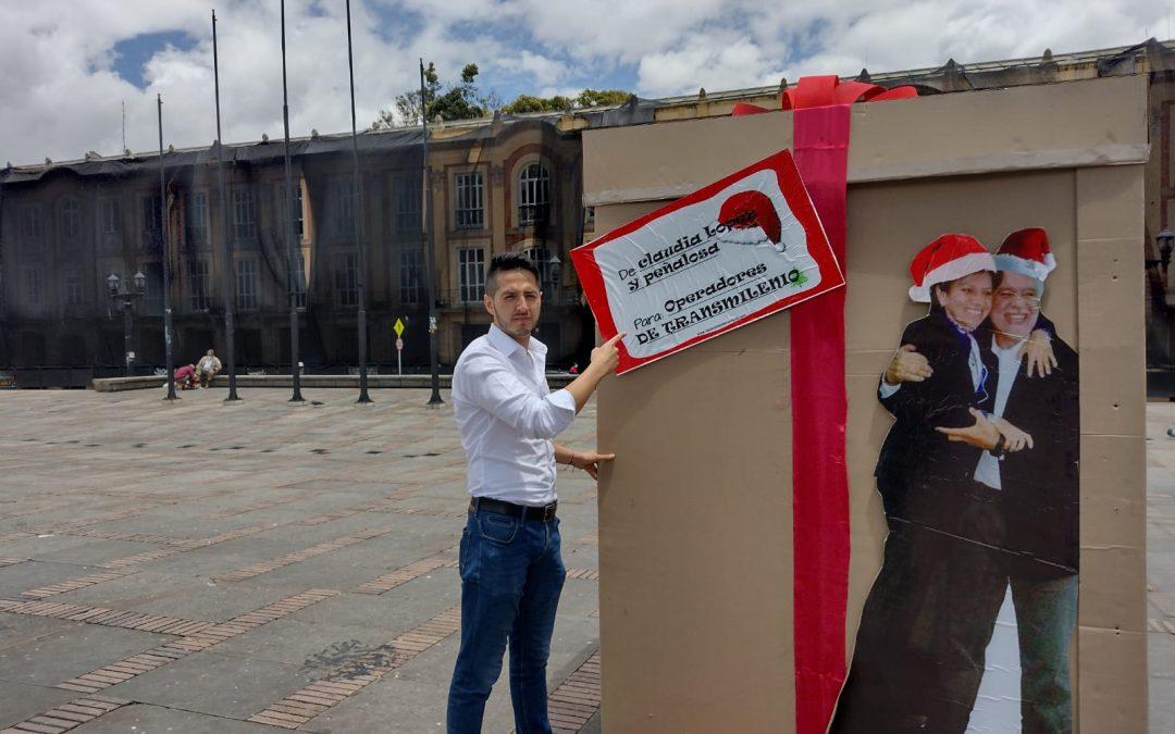 En un acto simbólico se rechaza el detrimento patrimonial que vive Bogotá