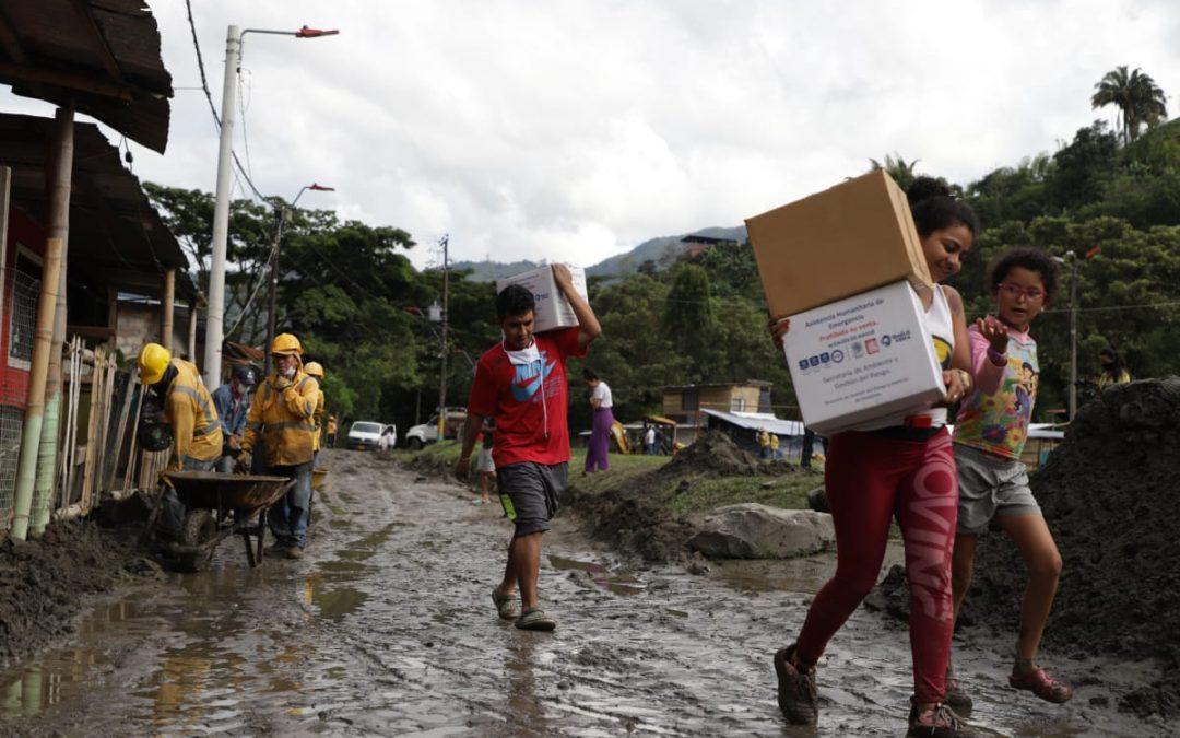 Cuarenta familias se quedaron sin casa, tras desbordamiento del río Combeima en Ibagué