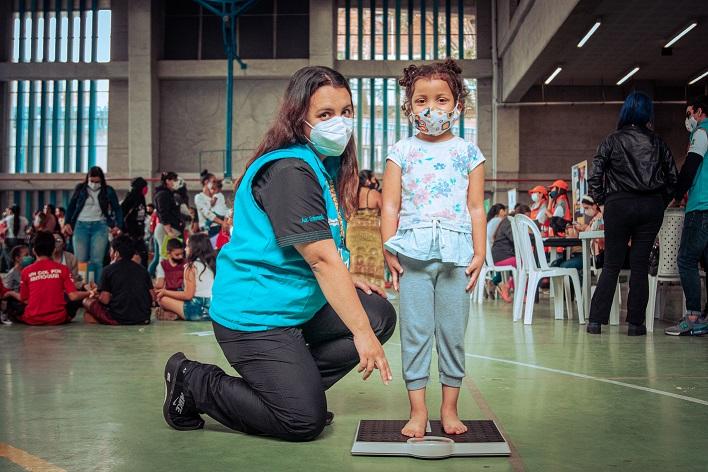 Medellín inicia jornadas masivas para conocer estado nutricional de más 60.000 niños y niñas