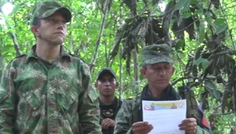 Está vivo: Disidencias de las Farc filtraron prueba de superviviencia de coronel Pérez Arciniegas, a quien las FF.MM. daban por muerto