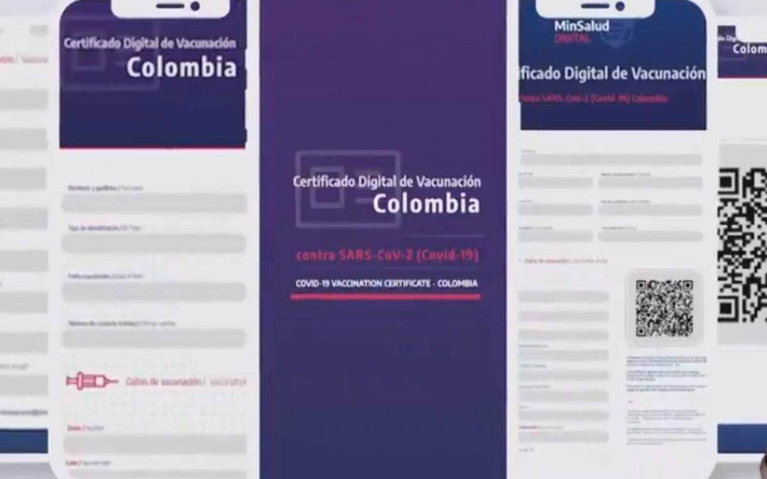 Más de 328.000 colombianos han descargado su Certificado Digital de Vacunación, según MinSalud