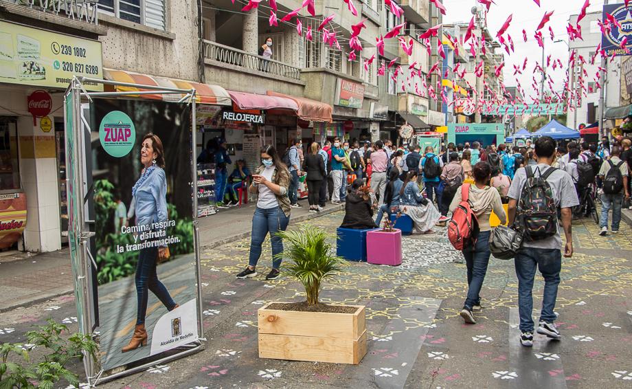 Medellín avanza hacia la movilidad sostenible: Con la apertura peatonal de Pichincha, se fortalece la Ecociudad