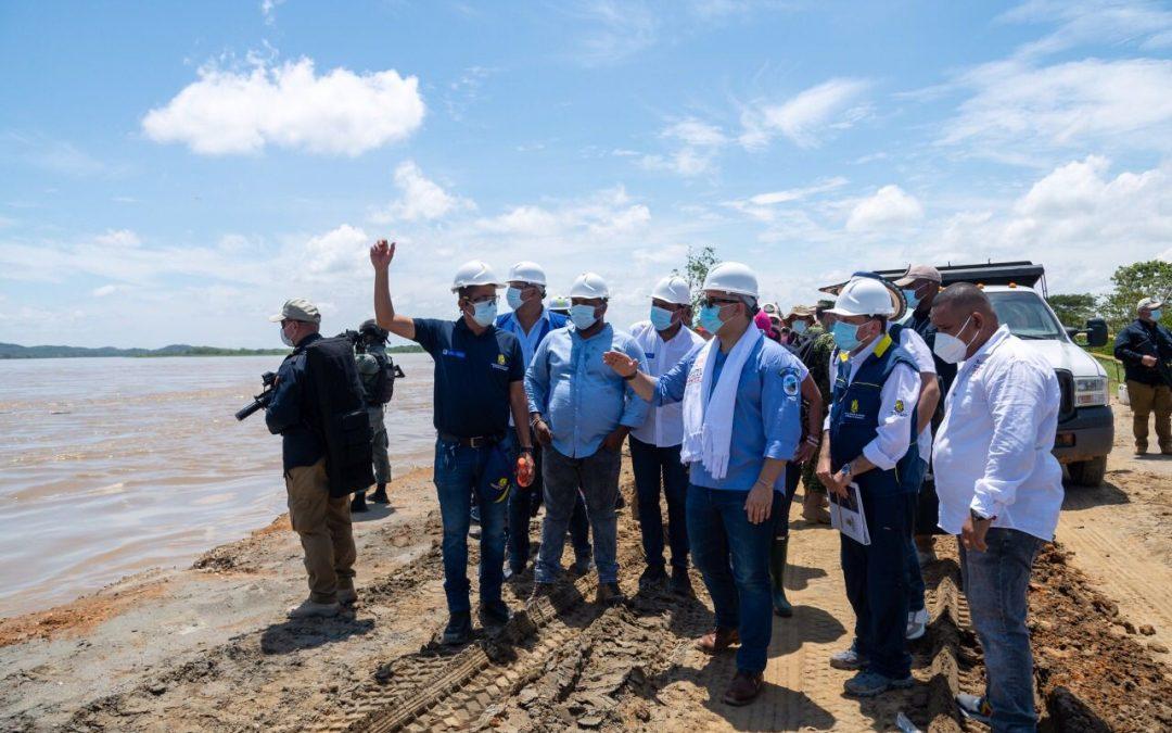 Histórico anuncio para La Mojana: Presidente Duque destinará 2.5 billones para labores de contención del río Cauca