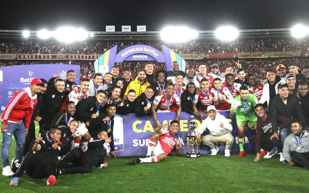 ¡Rugió el 'León'! Independiente Santa Fe venció al América y se coronó campeón de la Superliga